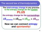 the second law of thermodynamics65