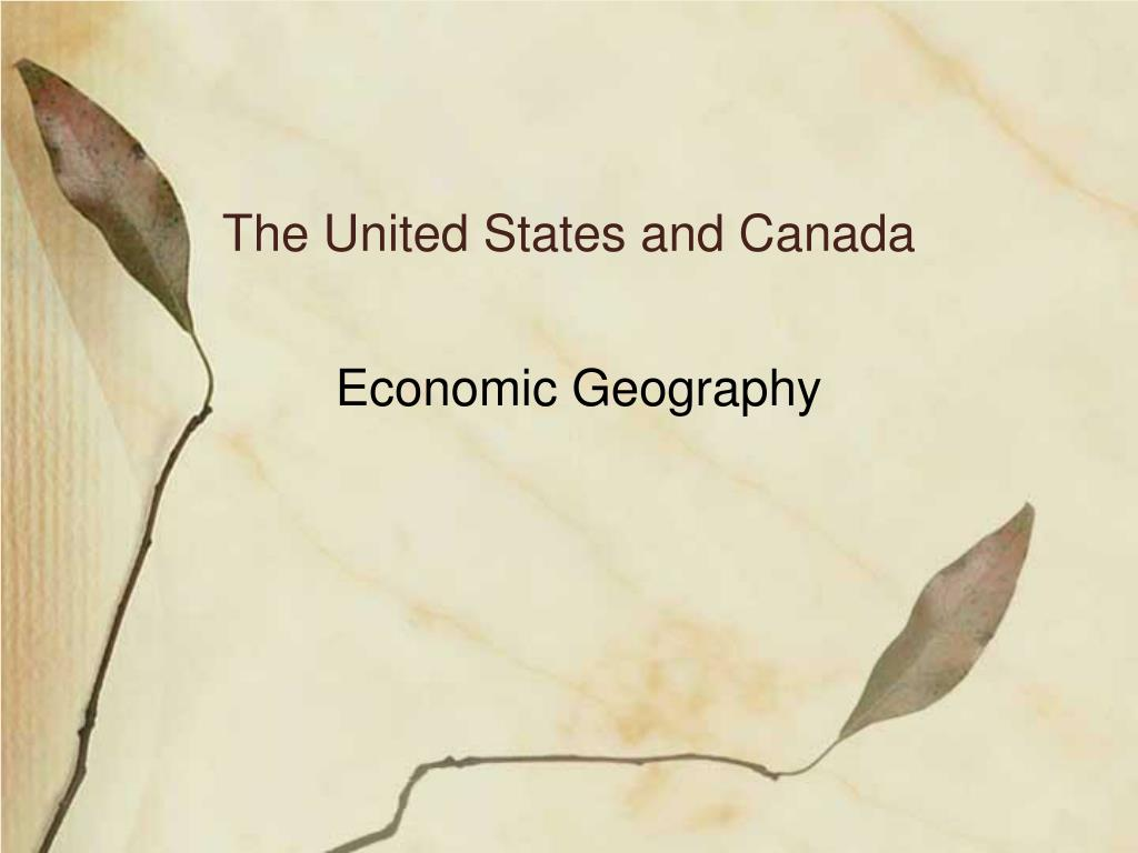 the united states and canada l.