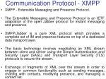 communication protocol xmpp