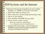 edi systems and the internet