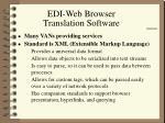 edi web browser translation software