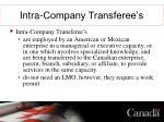 intra company transferee s