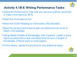activity 4 1b e writing performance tasks