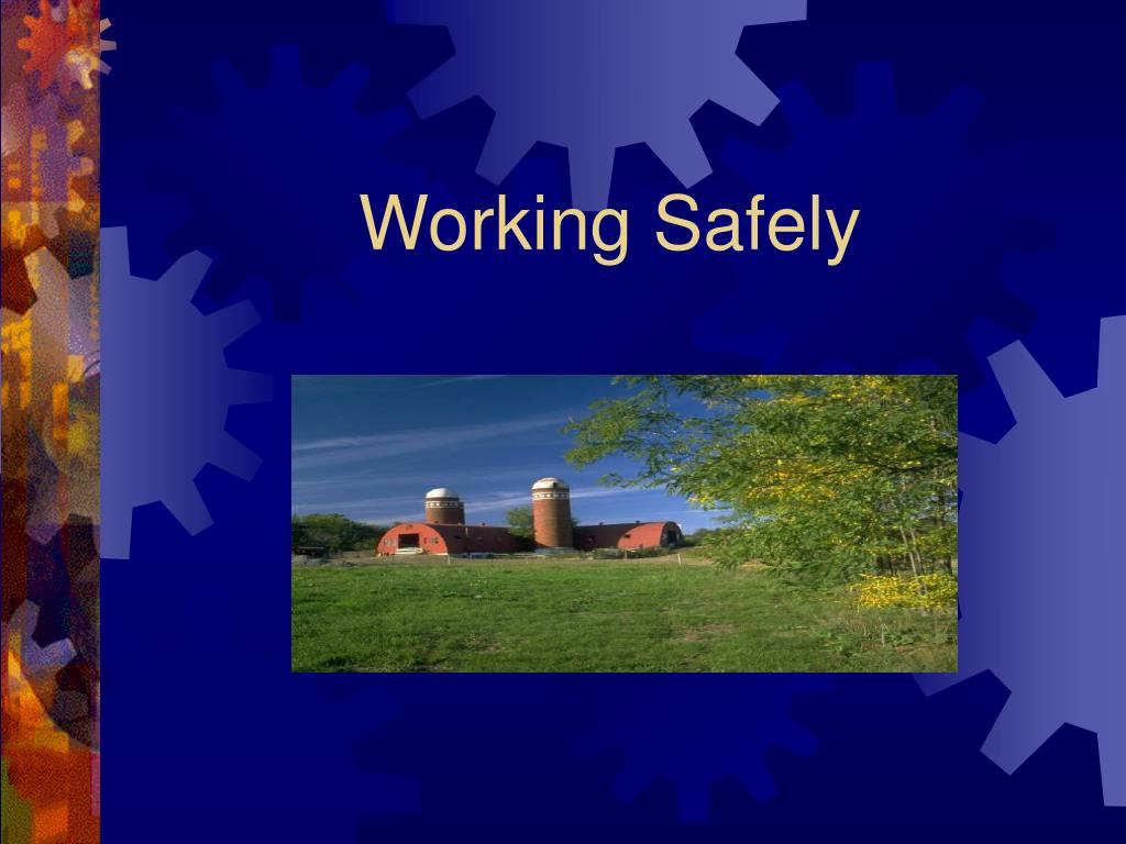 working safely l.