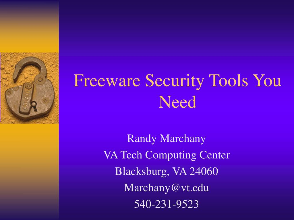 freeware security tools you need l.