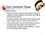 four common types7