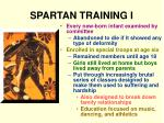 spartan training i