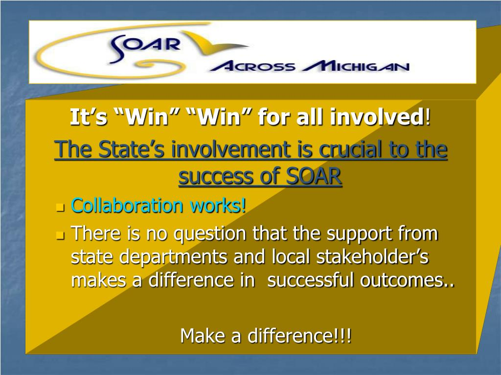 """It's """"Win"""" """"Win"""" for all involved"""