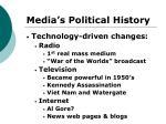 media s political history13