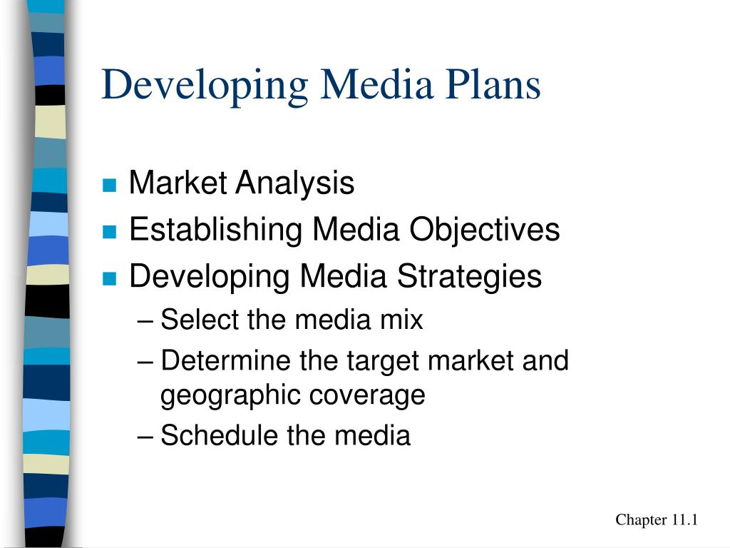 developing media plans l.