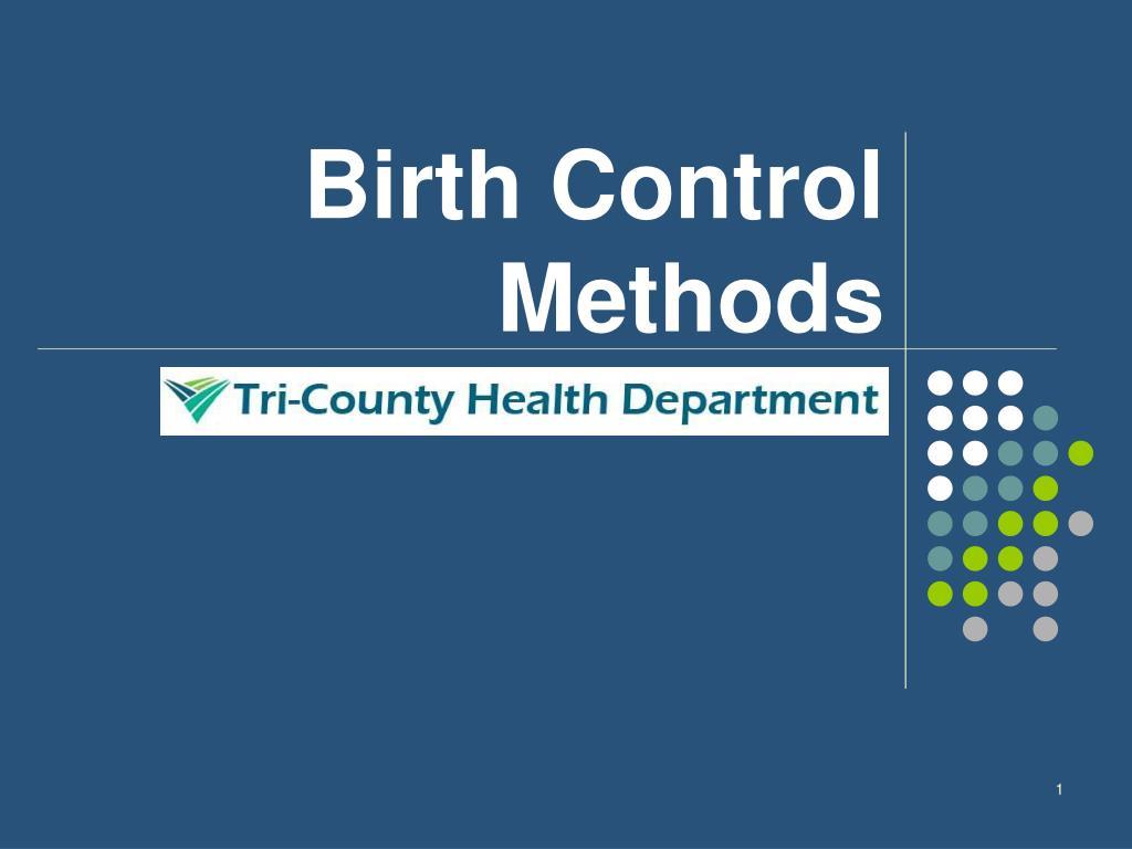 birth control methods l.