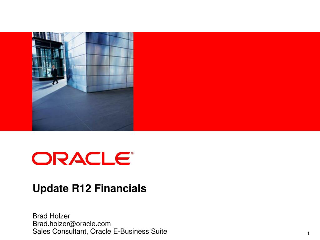 update r12 financials l.