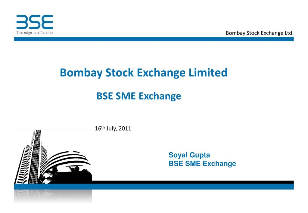 bombay stock exchange limited l.