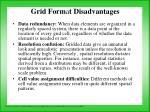 grid form a t disadvantages