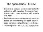 the approaches xsdmi8