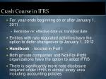 crash course in ifrs