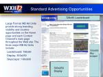 standard advertising opportunities