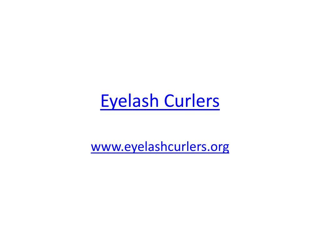 eyelash curlers l.