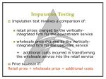 imputation testing