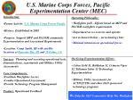 u s marine corps forces pacific experimentation center mec
