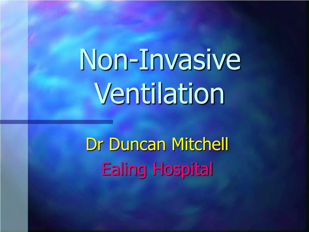 non invasive ventilation l.