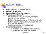 auction site