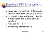 drawing a dfd for a system27