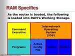 ram specifics
