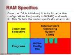 ram specifics12