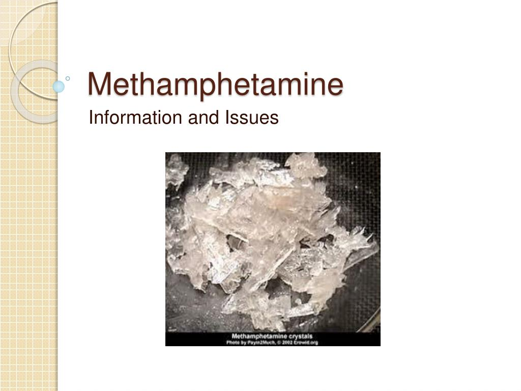 methamphetamine l.
