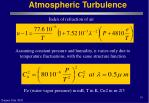 atmospheric turbulence10