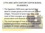 17th and 18th century coffin burial in america2