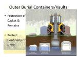 outer burial containers vaults72