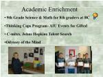 academic enrichment