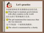let s practice28