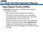 from the fda inspection manual30