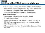 from the fda inspection manual31