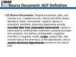 source document gcp definition