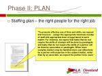 phase ii plan14
