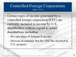 controlled foreign corporations slide 1 of 3