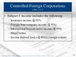 controlled foreign corporations slide 2 of 3