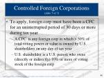 controlled foreign corporations slide 3 of 3