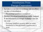 distributions from foreign corporations