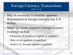 foreign currency transactions slide 1 of 4