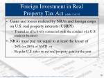foreign investment in real property tax act slide 1 of 4