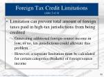 foreign tax credit limitations slide 2 of 4