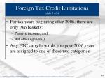 foreign tax credit limitations slide 3 of 4