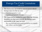 foreign tax credit limitations slide 4 of 4