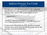 indirect foreign tax credit slide 2 of 5