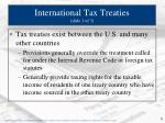 international tax treaties slide 1 of 3